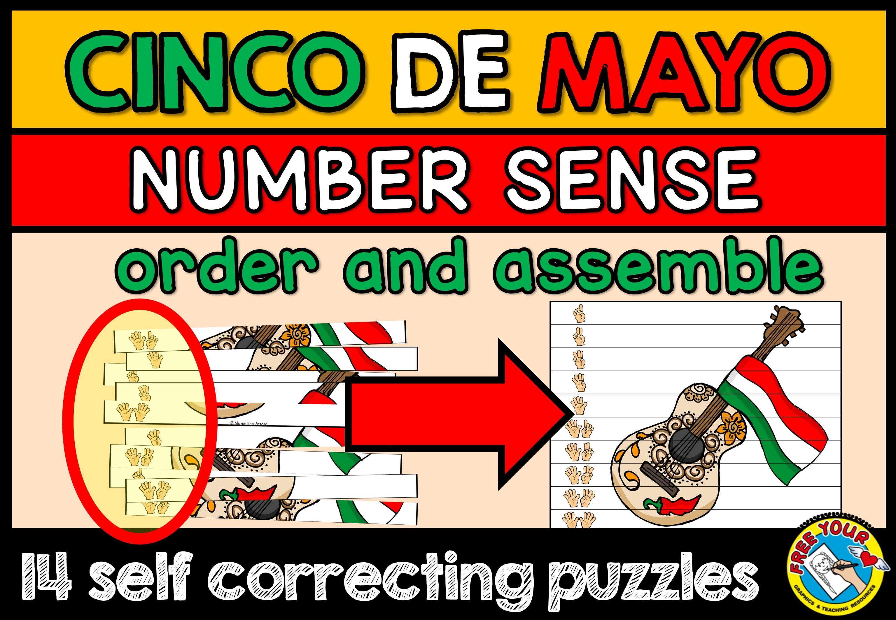 Cinco De Mayo Math Center Cinco De Mayo Activity