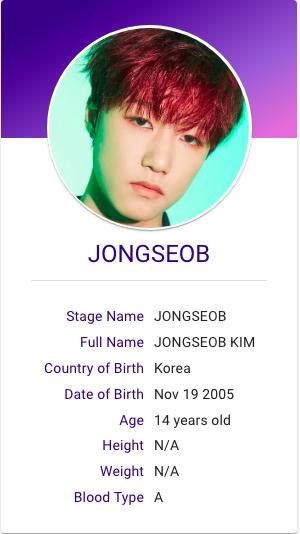 Jongseob P1harmony Profile Kpop Hallyu Idol K Pop Star Kpop Profiles Kpop