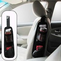 Features:  * Keeps your car tidy and items well organized, making full use of space.  * Holds nece