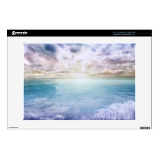 Windy Sunset at the Beach Skin For #Laptop   #zazzle