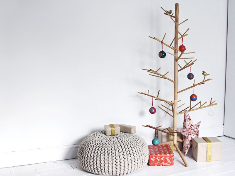 Unconventional Christmas Tree unconventional christmas tree ideas for a contemporary holiday