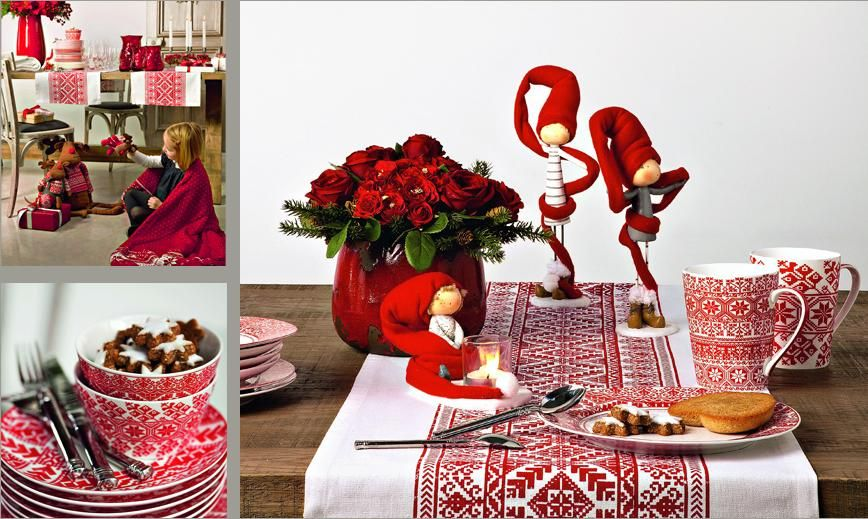 sia home fashion christmas table decoration zorka pinterest table decorations and. Black Bedroom Furniture Sets. Home Design Ideas