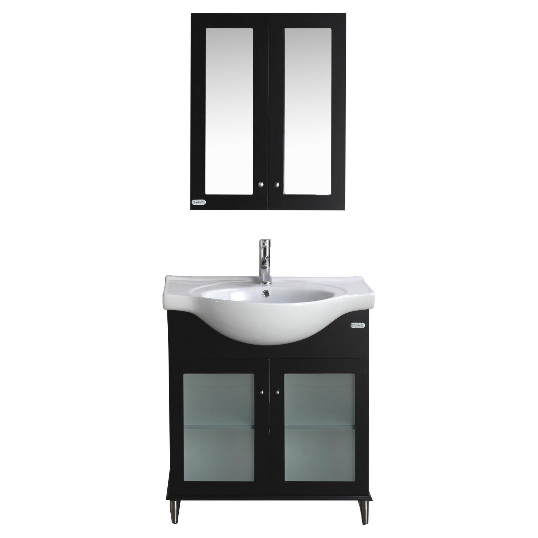 Eviva Tux 30 in. Single Sink Bathroom Vanity - EVVN511-30ES
