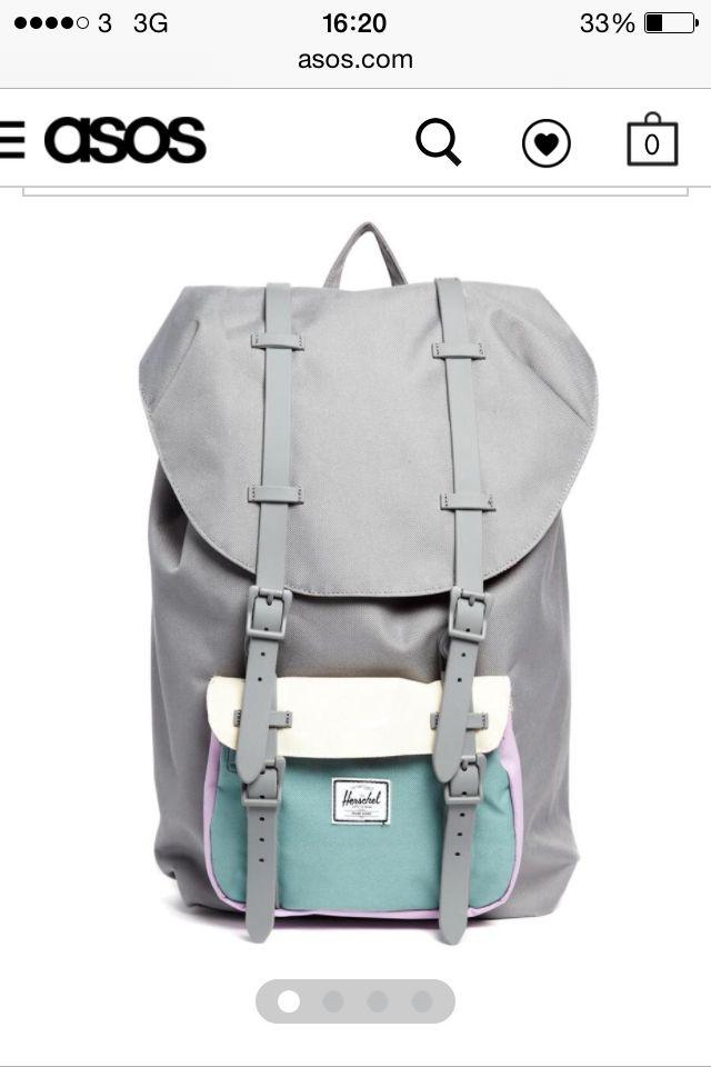 Рюкзак campus kool 20 khaki/mint модные рюкзаки для девушек фото