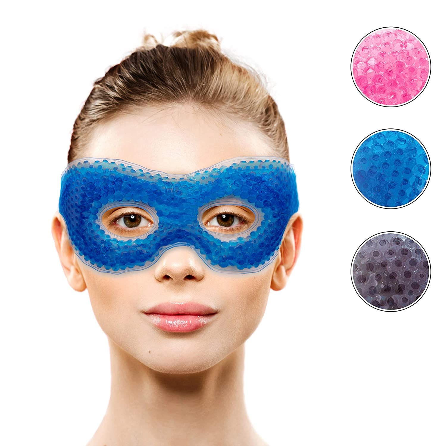Gel Eye Mask With Eye Holeshot Cold Compress Pack Eye Therapy