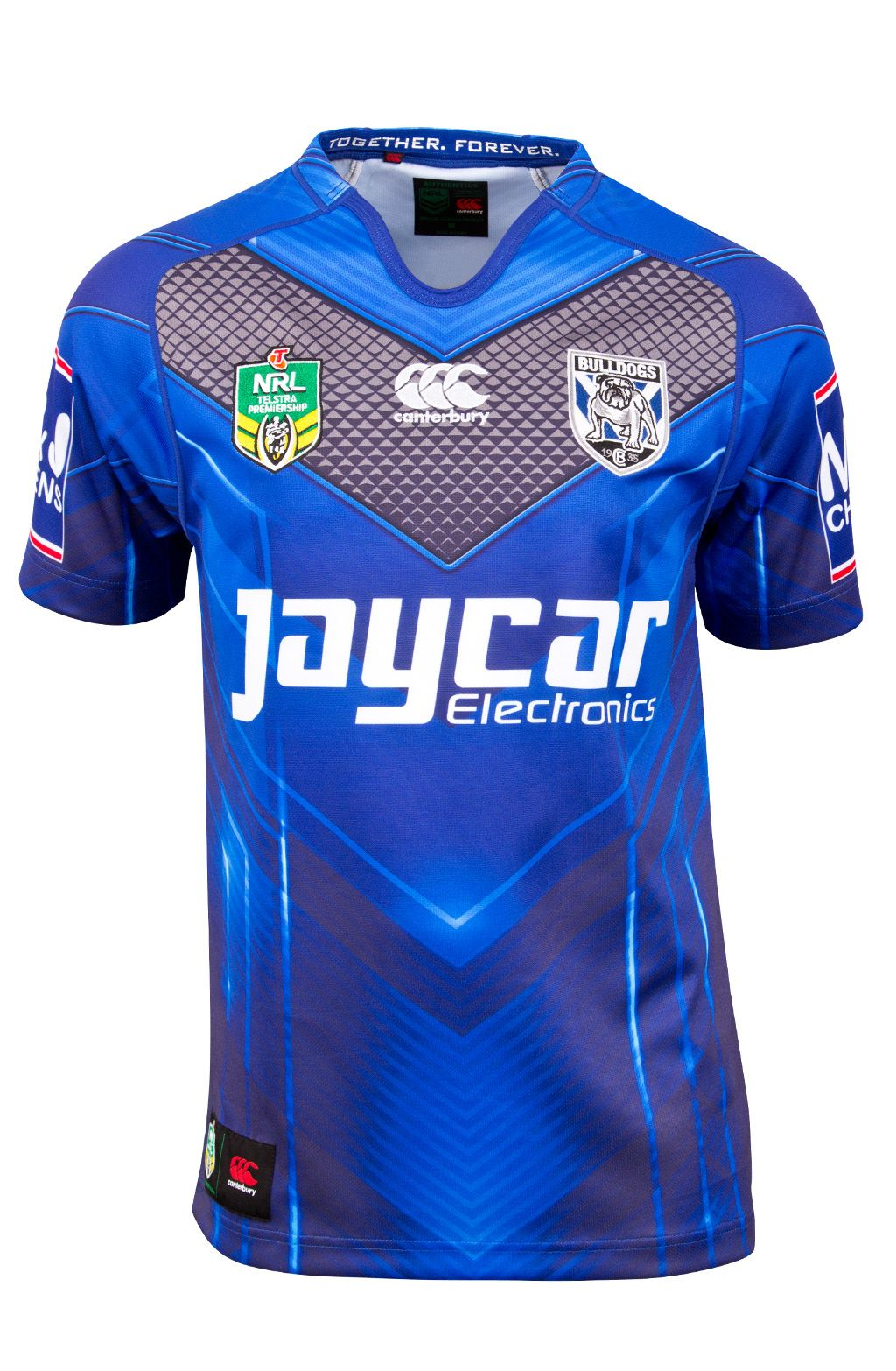 73669775fc7f6 Australia's Best Sports Lifestyle Clothing and Accessories - Canterbury NZ  - Shop - Supporters - Bulldogs Alternate Jersey