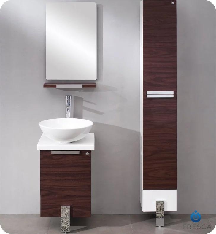 Fresca Fvn8110dk Adour 16 Modern Bathroom Vanity With Mirror In