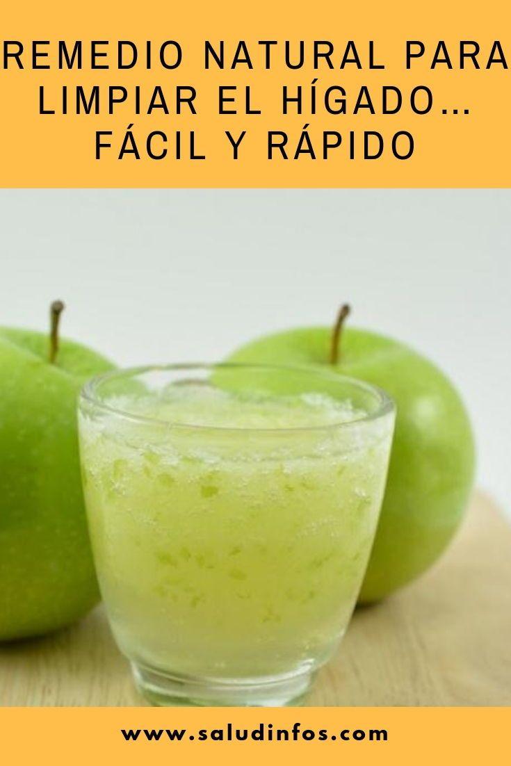 Remedio Natural Para Limpiar El Hígado Fácil Y Rápido Limpiar Hígado Fácil Fruit Food Desserts