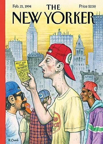 Robert Crumb - New Yorker Magazine - 1994