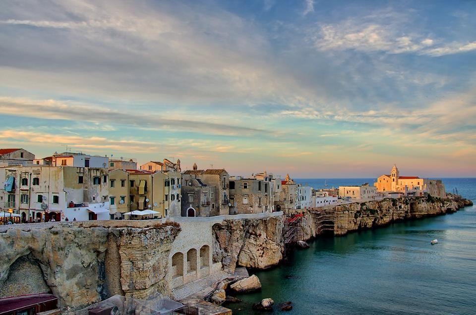 Italy Puglia Gargano coast Vieste Viaggi