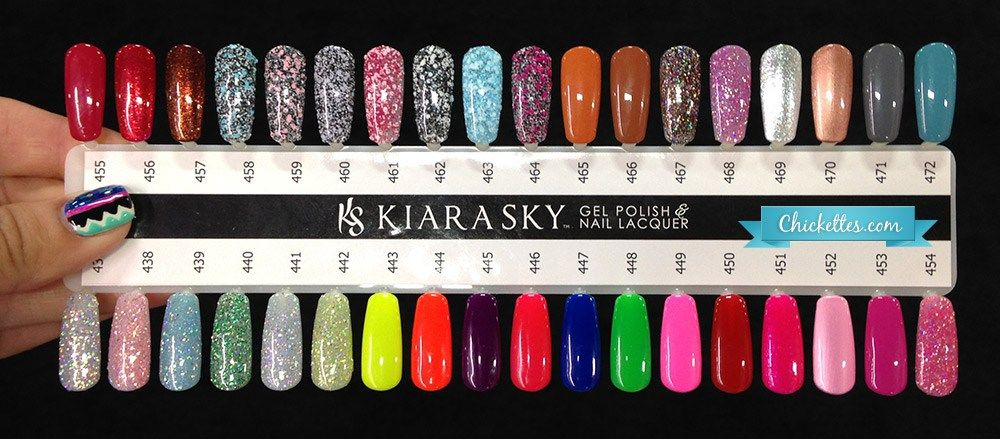 Kiara Sky Color Swatches 2 | Lovee tha nails | Pinterest | Swatch ...