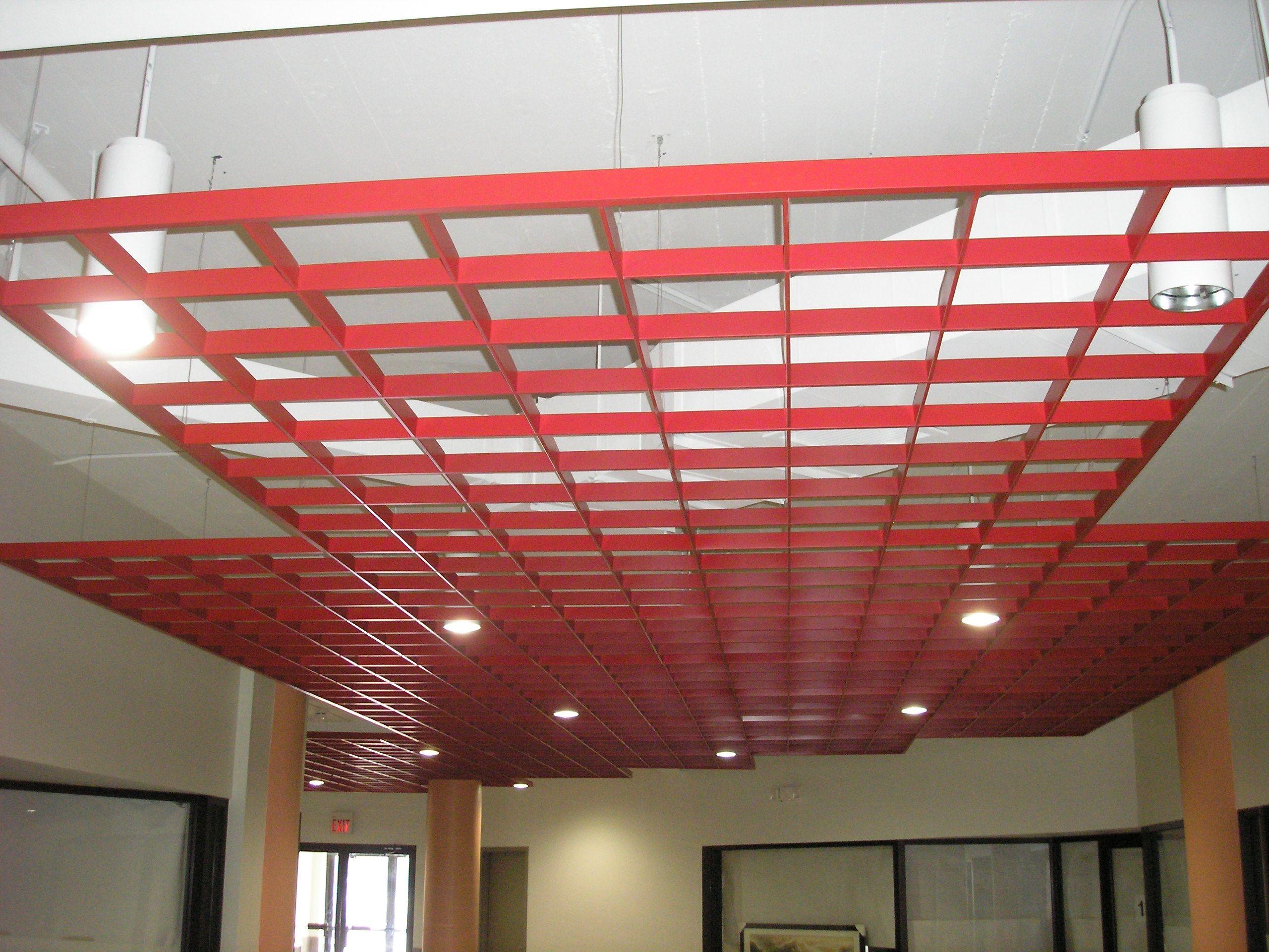 Contemporary Drop Ceiling Grid | Velocity | Pinterest ...