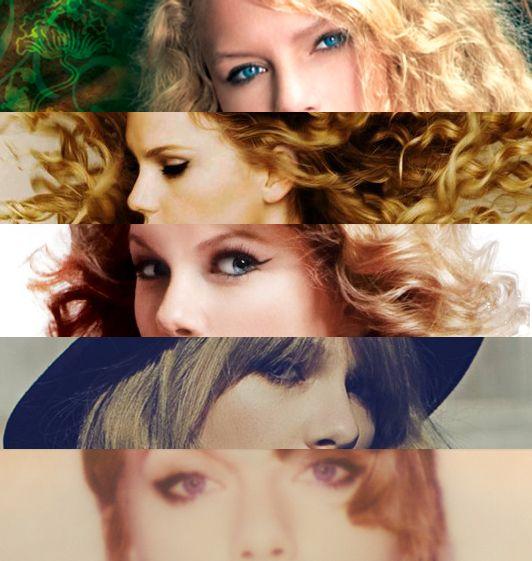 Taylor Swift albums edit.