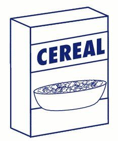 reverse cereal box limbo cut or tear the flaps off of a tall rh pinterest com