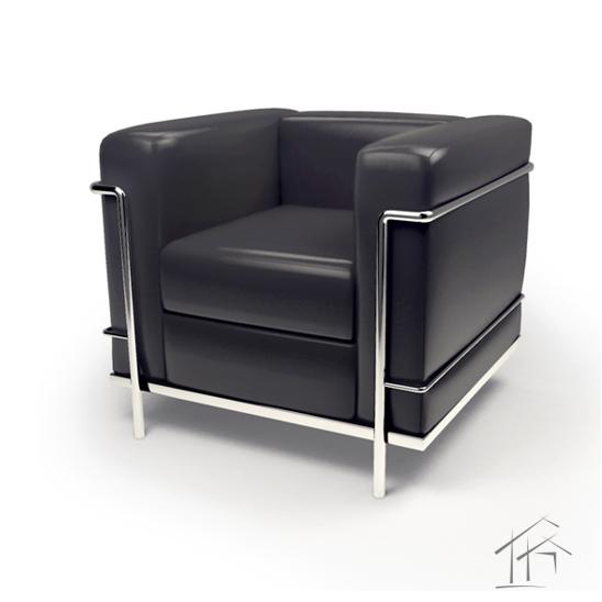 Grand Confort Modelo Lc2 Chair 1928 Corbusier Furniture Iconic Furniture Corbusier Architecture