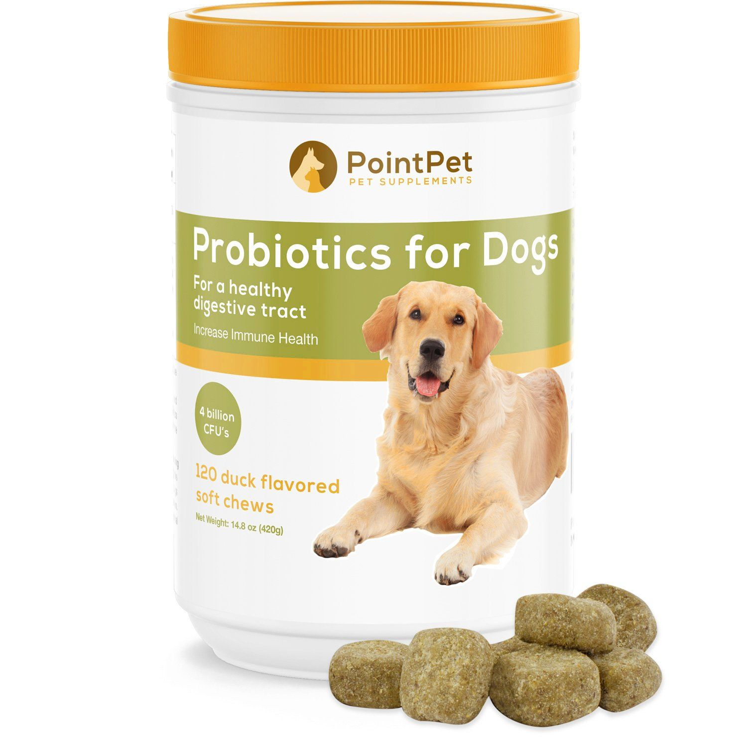 Pointpet Probiotics For Dogs With Digestive Enzymes Relief From