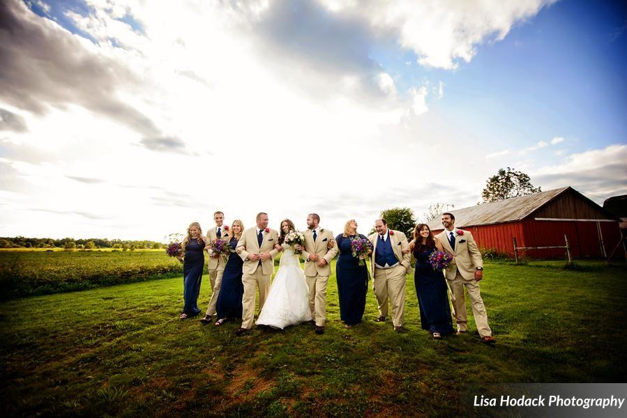 Barn Wedding Cherry Barc Farm Vermonville Mi Photo Provided By Photo Provided By Lisa Hodack Photography Www Barn Wedding Barn Wedding Venue Wedding Roles