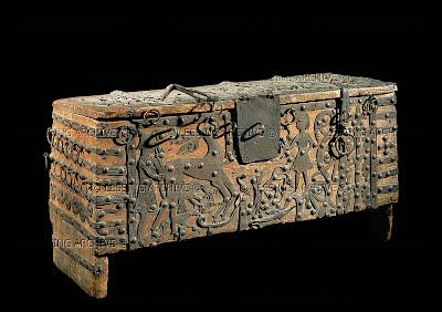 C 1200 Chest For The Voxtorp Church Småland Sweden Statens