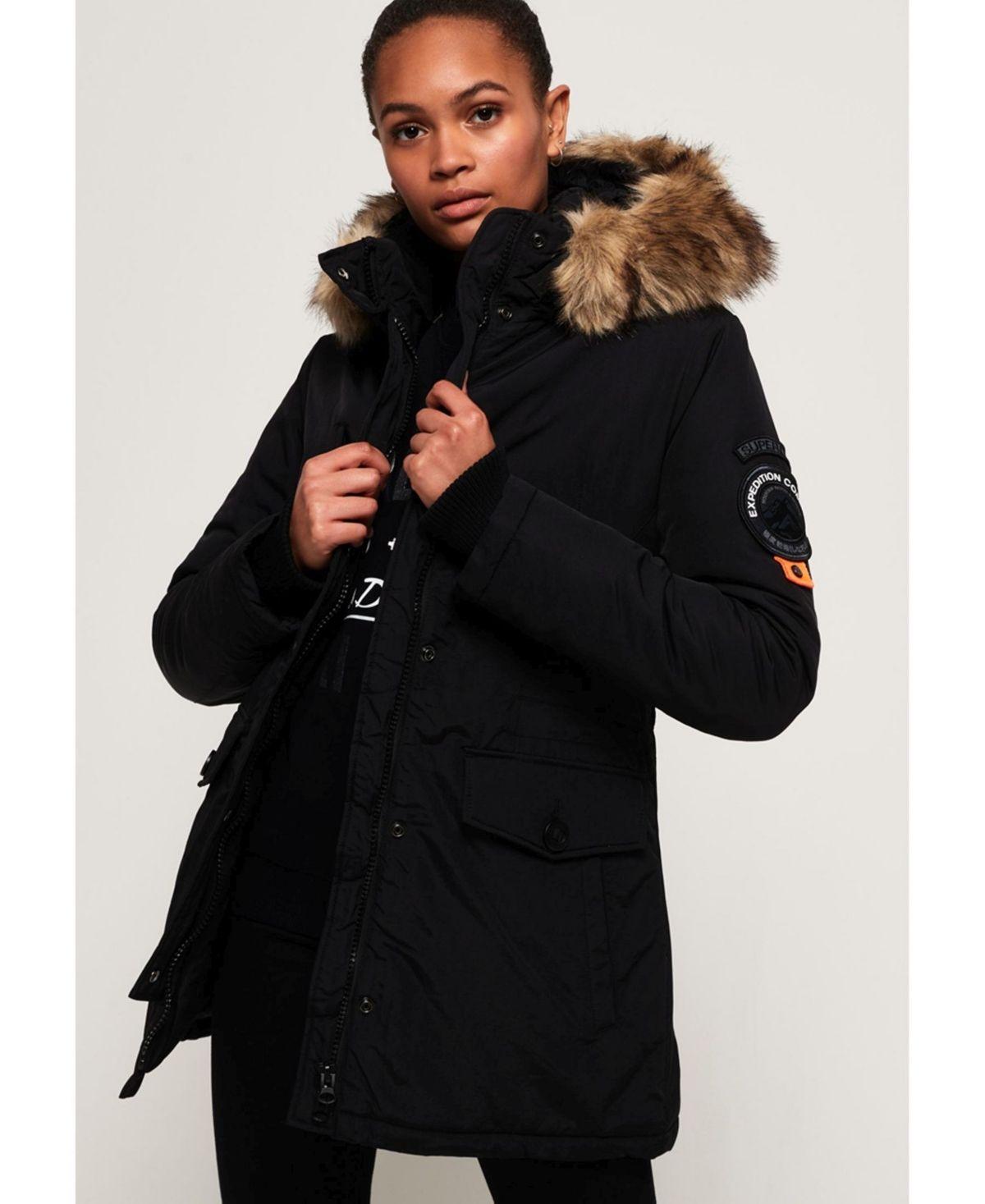 Superdry Ashley Everest Jacket   Black   Superdry women jacket ...