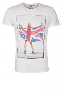 Pepe Jeans - CHANY - T-shirt con stampa - white #pepejeans #fashion #london #tshirt