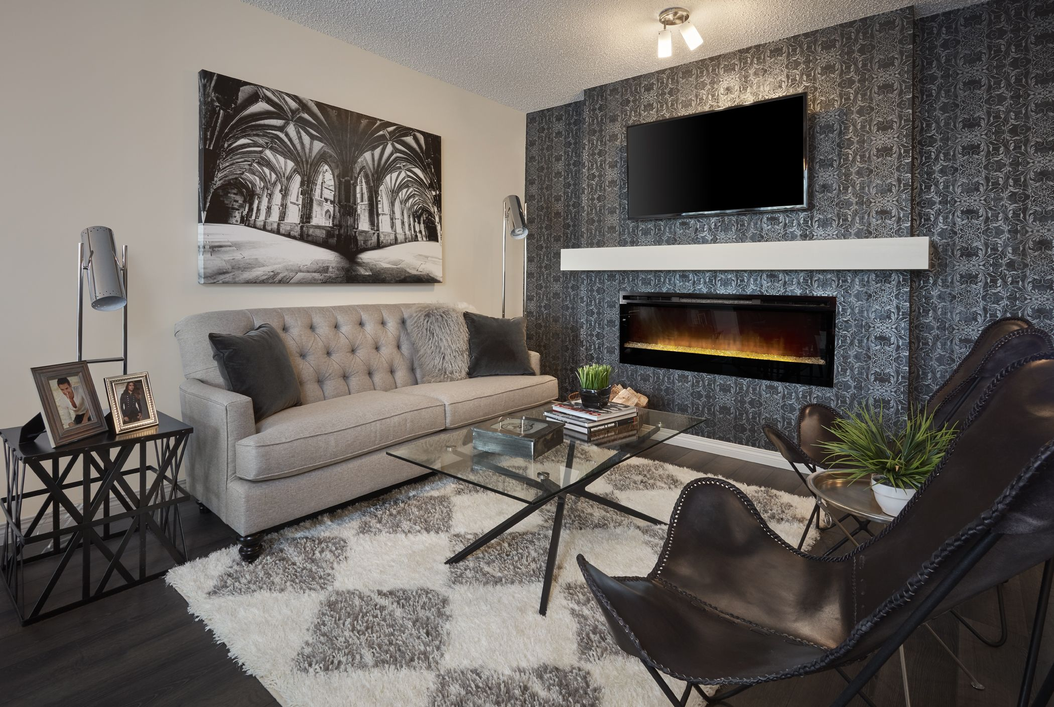 The Industrial Inspired Allegro Show Home In Edgemont