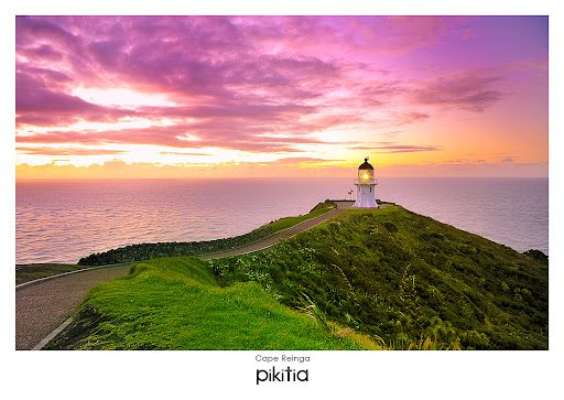 Cape Reinga - place that I've been ! (and I never forget <3)