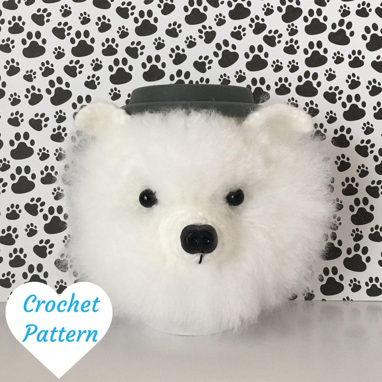 Pomeranian Mug Cozy Pattern designed by HookedbyAngel ...