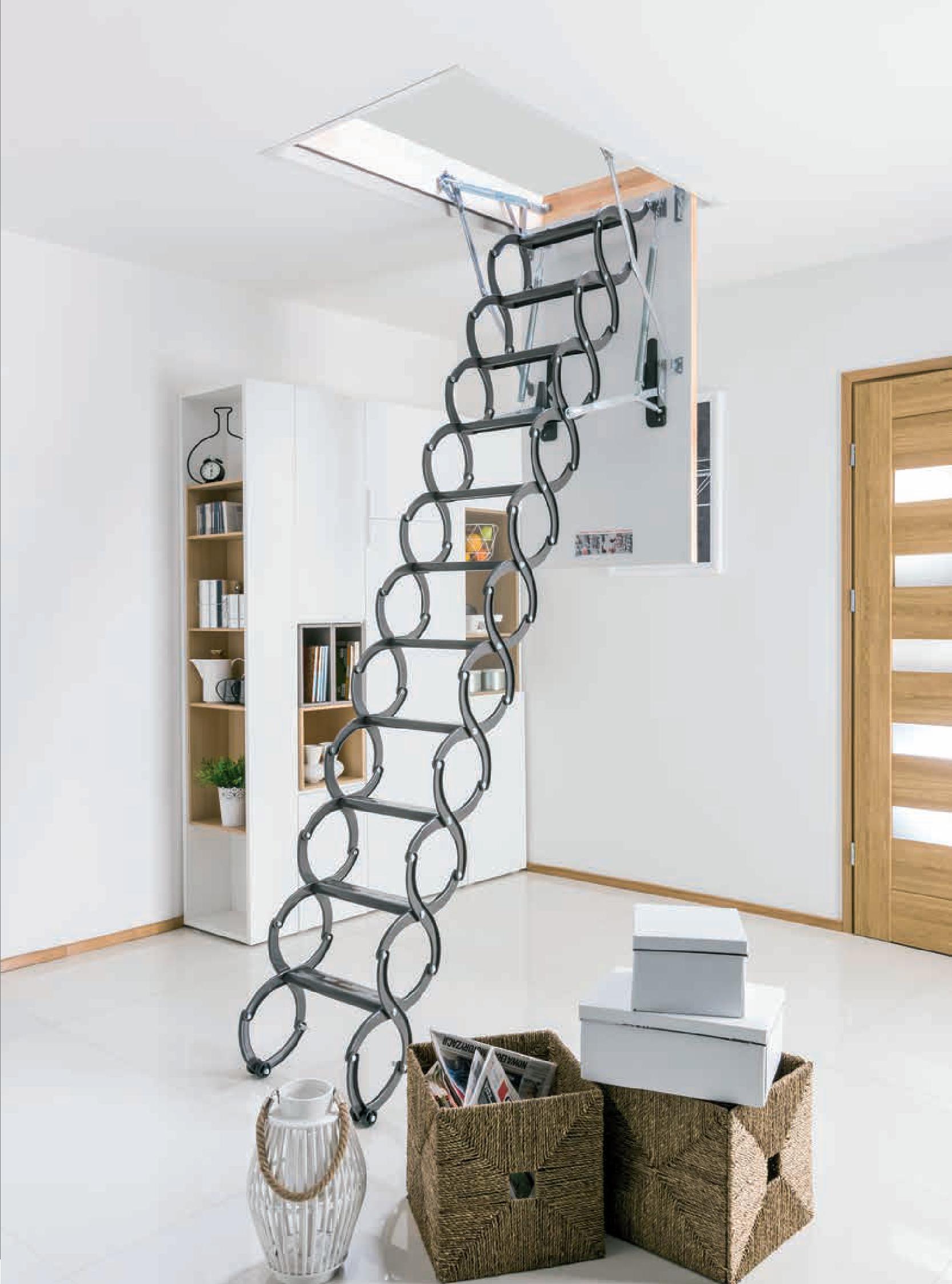 Fakro Scissors Loft Ladder Attic Stairs Loft Ladder Attic Ladder