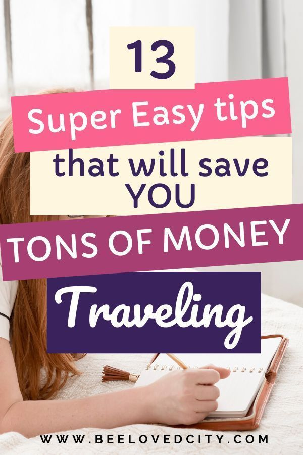 Want to save more money while traveling? Check out these 13 super easy tips and tricks! They will save you tons of money when you travel! Perfect to travel more and spend less! #budgettravel #travel #budget  Informations About How to save money while traveling Pin  You can easily use my profile to examine different pin types. How to save money while traveling pins are as aesthetic and useful as you can use them for de... #Travel Hacks Credit Cards #Travel Hacks European #Travel Hacks London