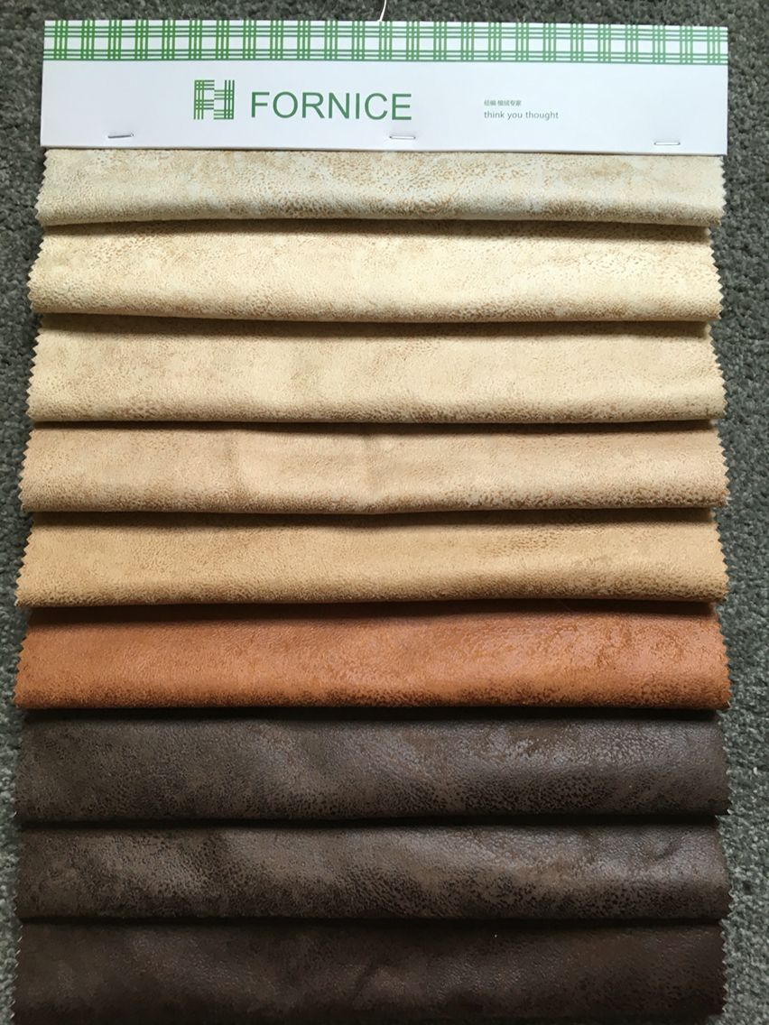 Faux Leather Sofa Fabric Bronzed Face Suede Waterproof Cover Fabric Faux Leather Sofa Fabric Sofa