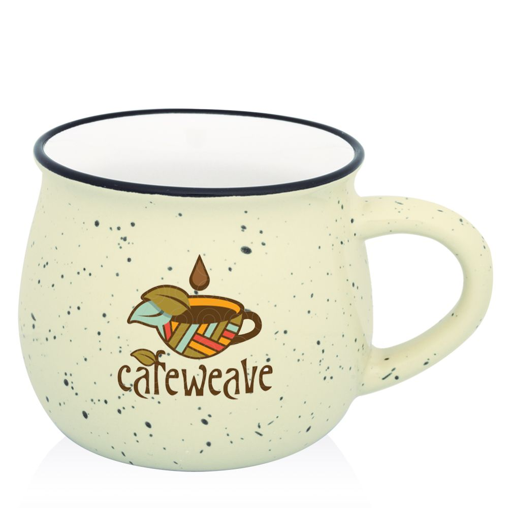 Speckle Ceramic Campfire Mugs | Wedding Favors | Pinterest | Campfires