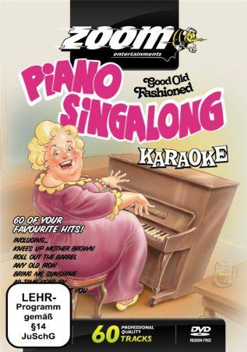 Zoom Karaoke Dvd - Piano Singalong - 60 Songs | Dvds