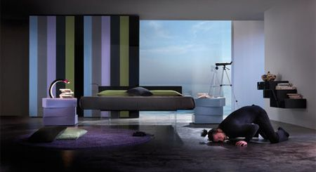 Letto platform bed from designer Daniele Lago gives the illusion ...