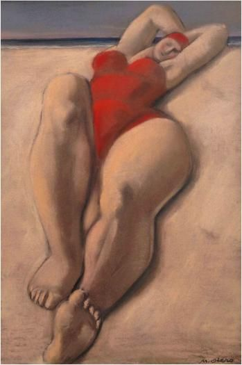 Mariano OTERO (Madrid, 1942) - BAIGNEUSES
