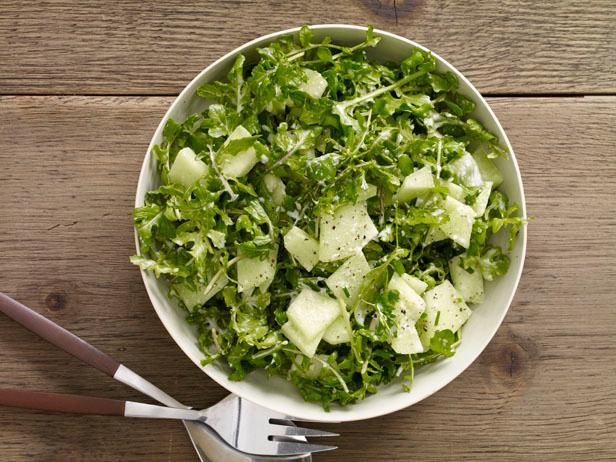 Honeydew and Arugula Salad