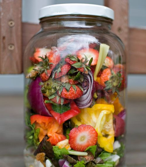 You Can Compost In A Gl Jar Diy