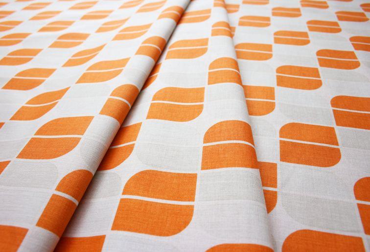 Riley Blake Hipster Mirrah Leaf Orange C520-03