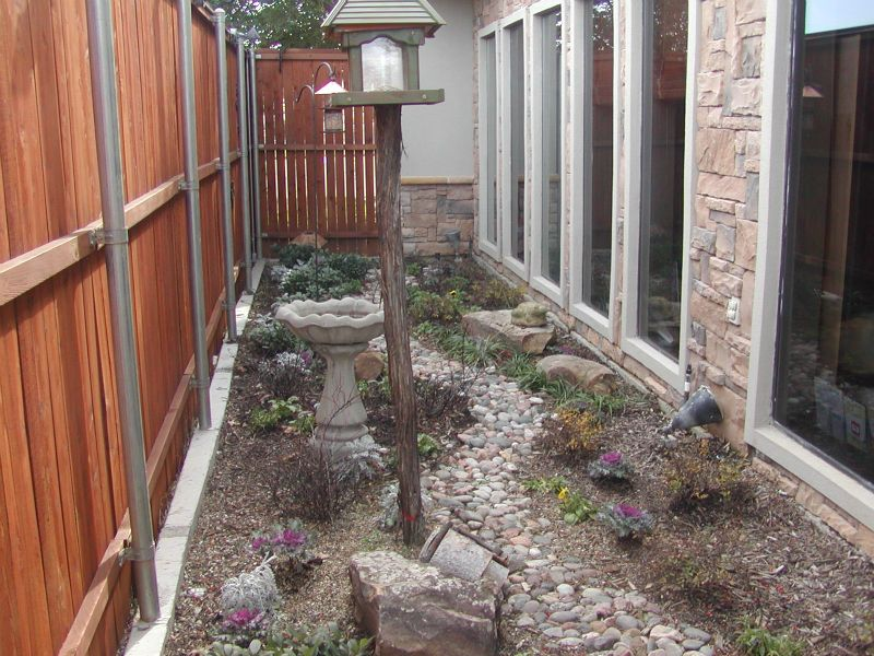 dry bed landscape ideas | Dental Clinic Dry Creek Bed