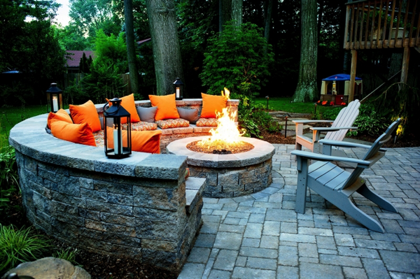 10 Must Haves For The Perfect Outdoor Living Space Backyard Fire Pit Backyard Backyard Upgrades
