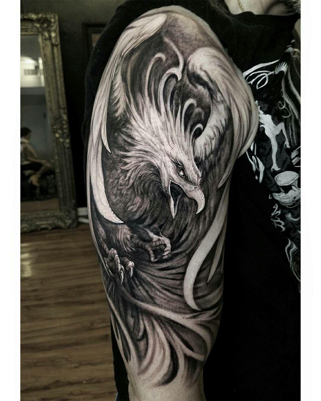 Pin De Nicolas Franco En Tatuaje De Fenix Tatuajes De Aves Fenix
