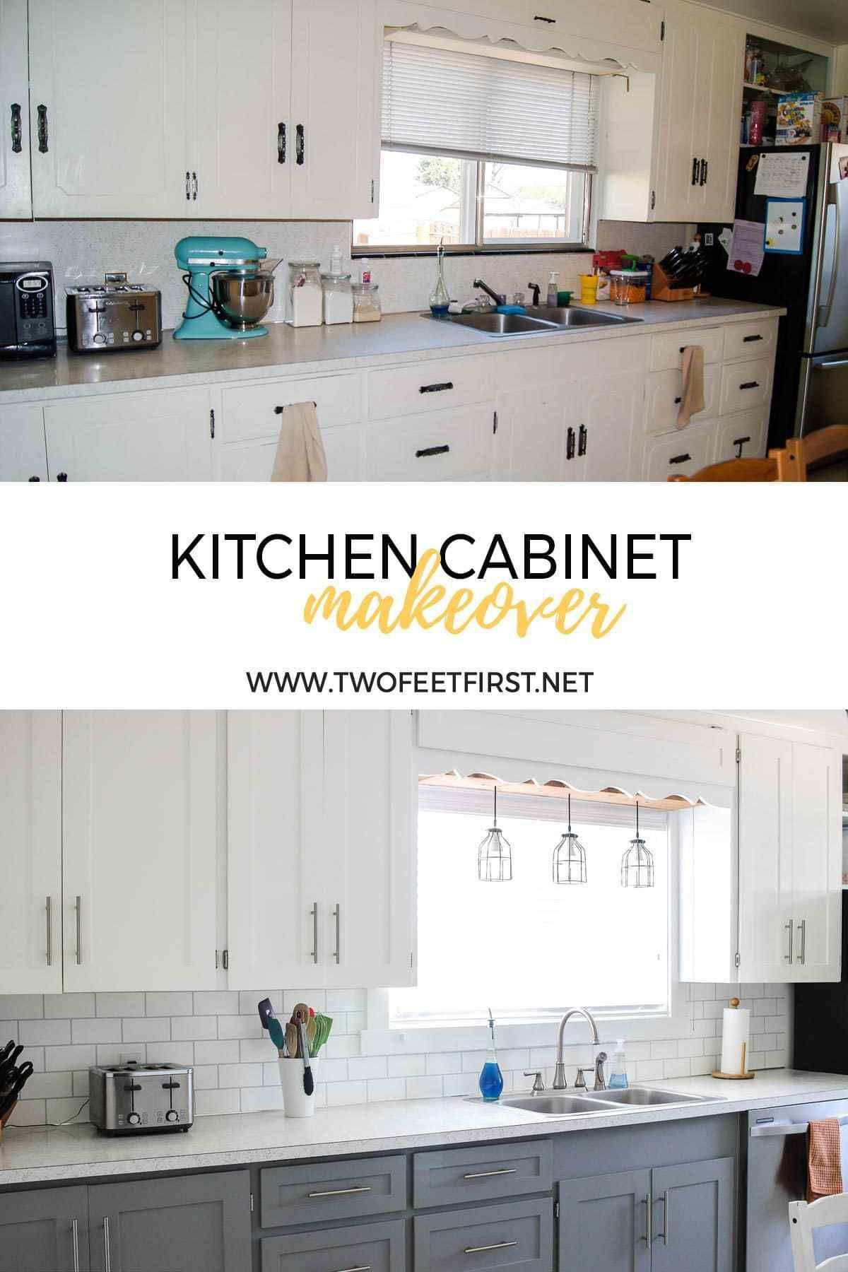 Want To Update Your Kitchen By Painting The Cabinets Here Are Tips On How To Paint Kitchen Cabinets With A Spray Painter Kitche New Kitchen Cabinets Refacing Kitchen Cabinets Diy Kitchen