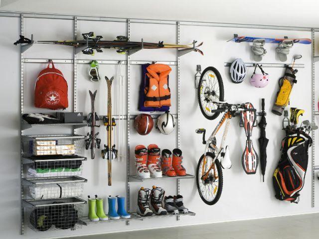 solutions pratiques pour gagner de la place dans son garage pour la maison pinterest. Black Bedroom Furniture Sets. Home Design Ideas
