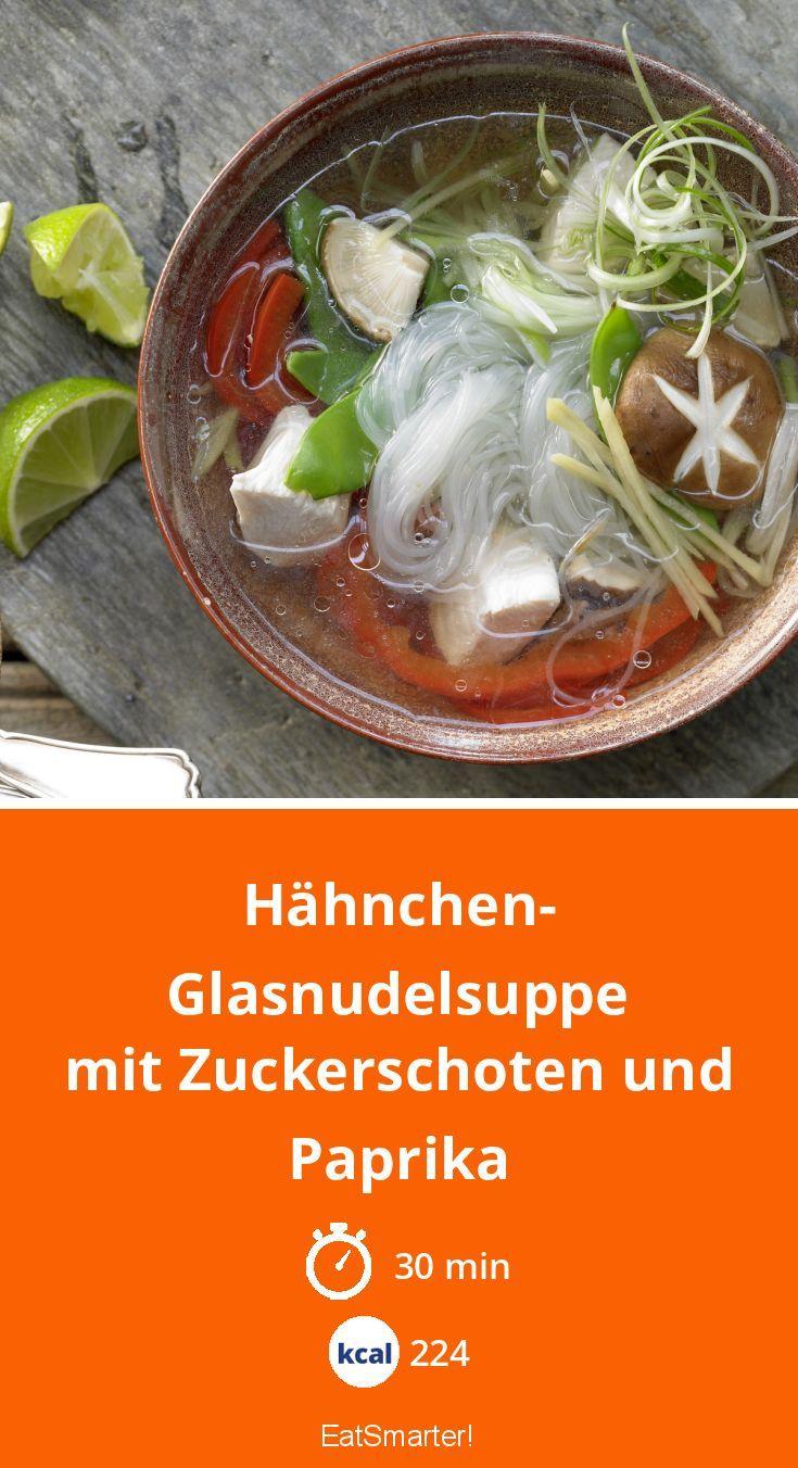 Hähnchen-Glasnudelsuppe #diabetesmenu