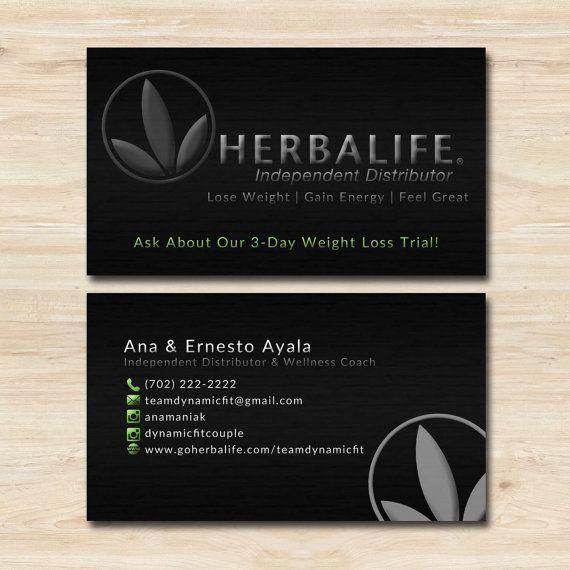 Herbalife Business Card Template Herbalife Business Cards Herbalife Business Herbalife
