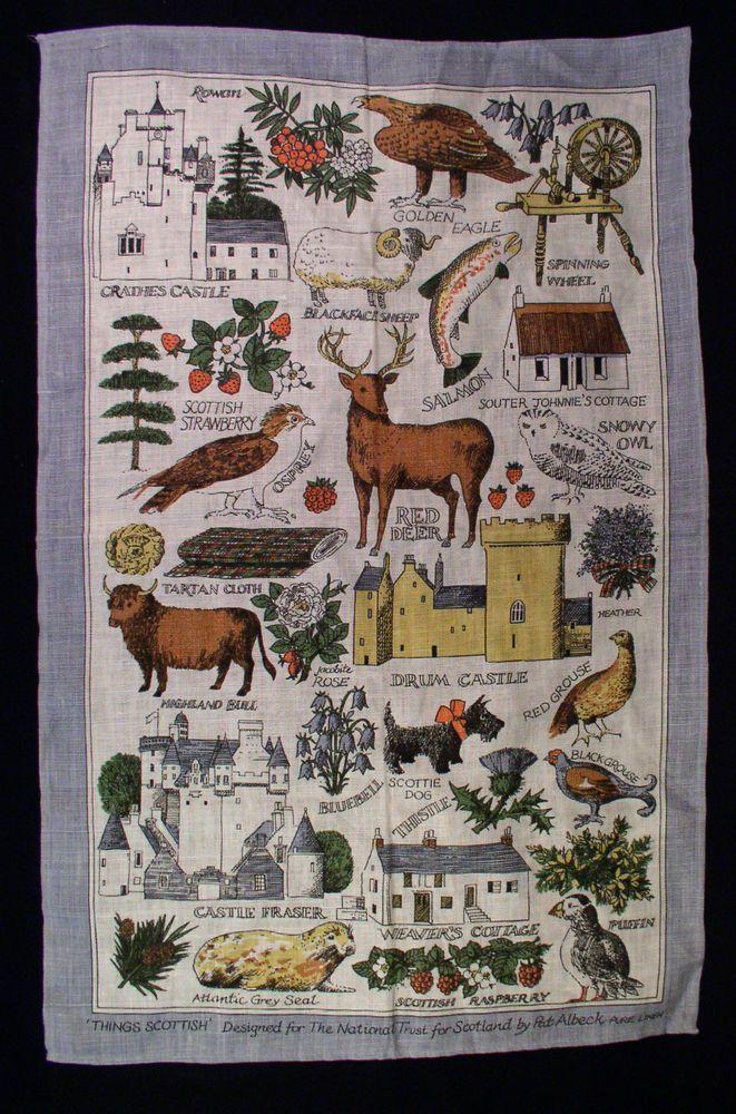 Vintage Bicentennial Linen Calendar Tea Towel 1976 In Original Mailing Packet