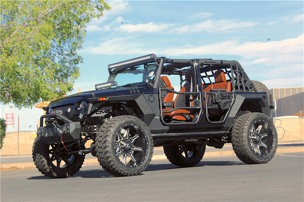 2018 Jeep Wrangler Terminator Custom By Nevada Based Kao Auto