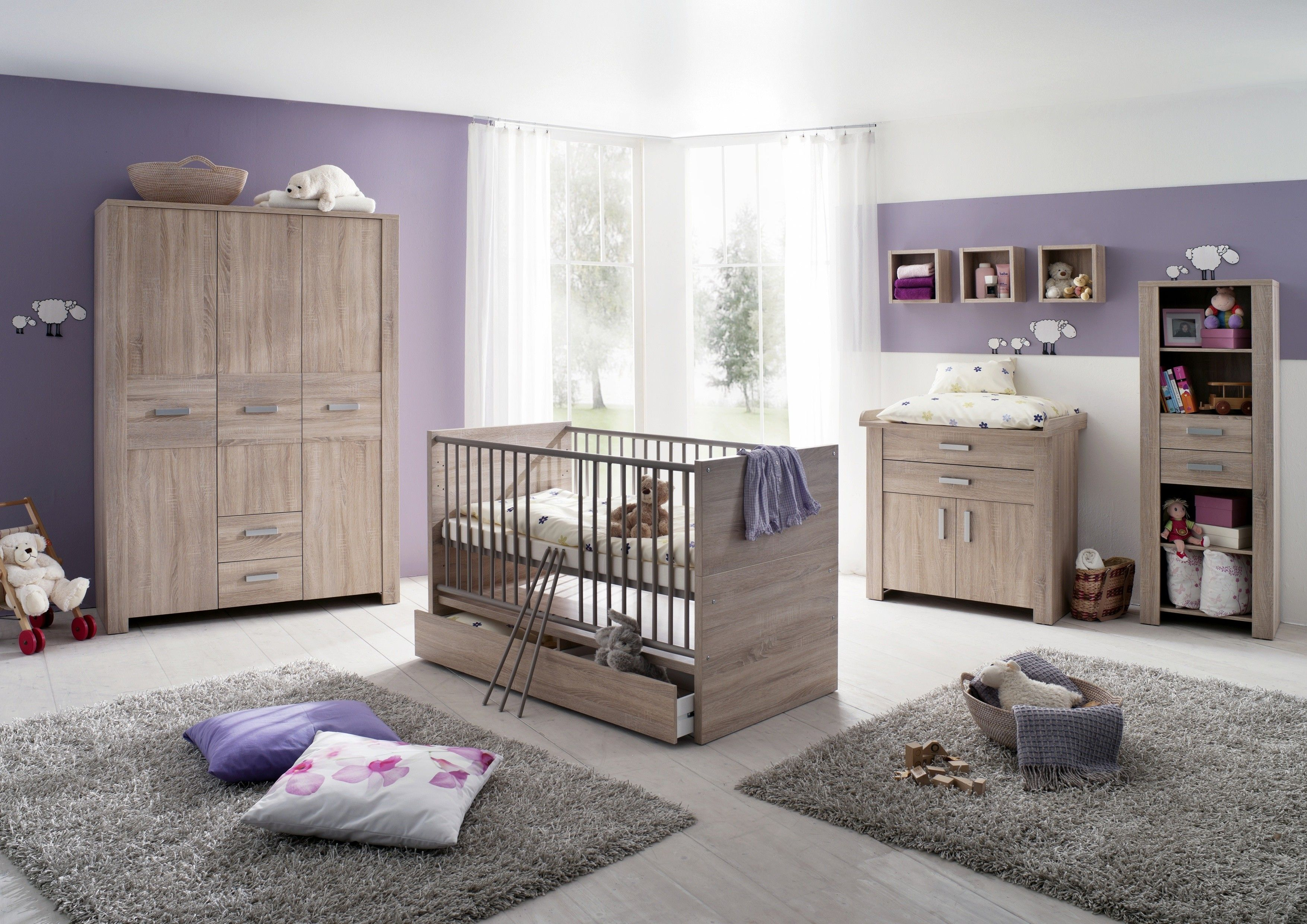 Lila Wände Schlafzimmer (mit Bildern) Baby