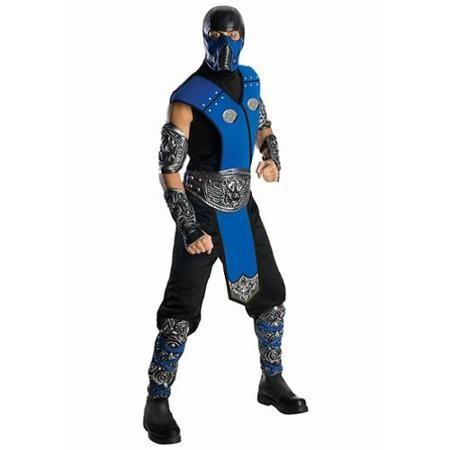 Deluxe Subzero Mortal Kombat Costume for Men - Size STD