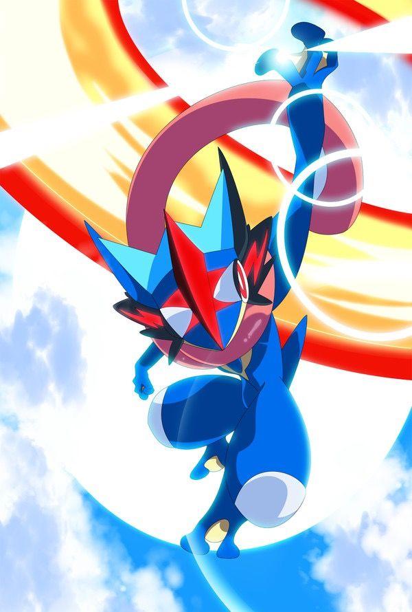 Pokemon Greninja Personagens Pokemon O Pokemon Pokemon Desenho