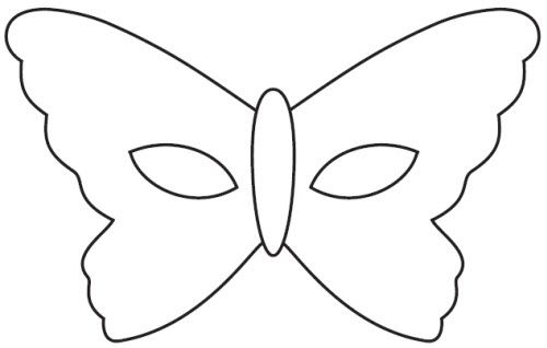 Telecharger masque carnaval papillon activit s - Masque a imprimer pour fille ...